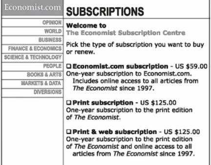 Les choix d'abonnement au magazine The Economist qui ont surpris Dan Ariely