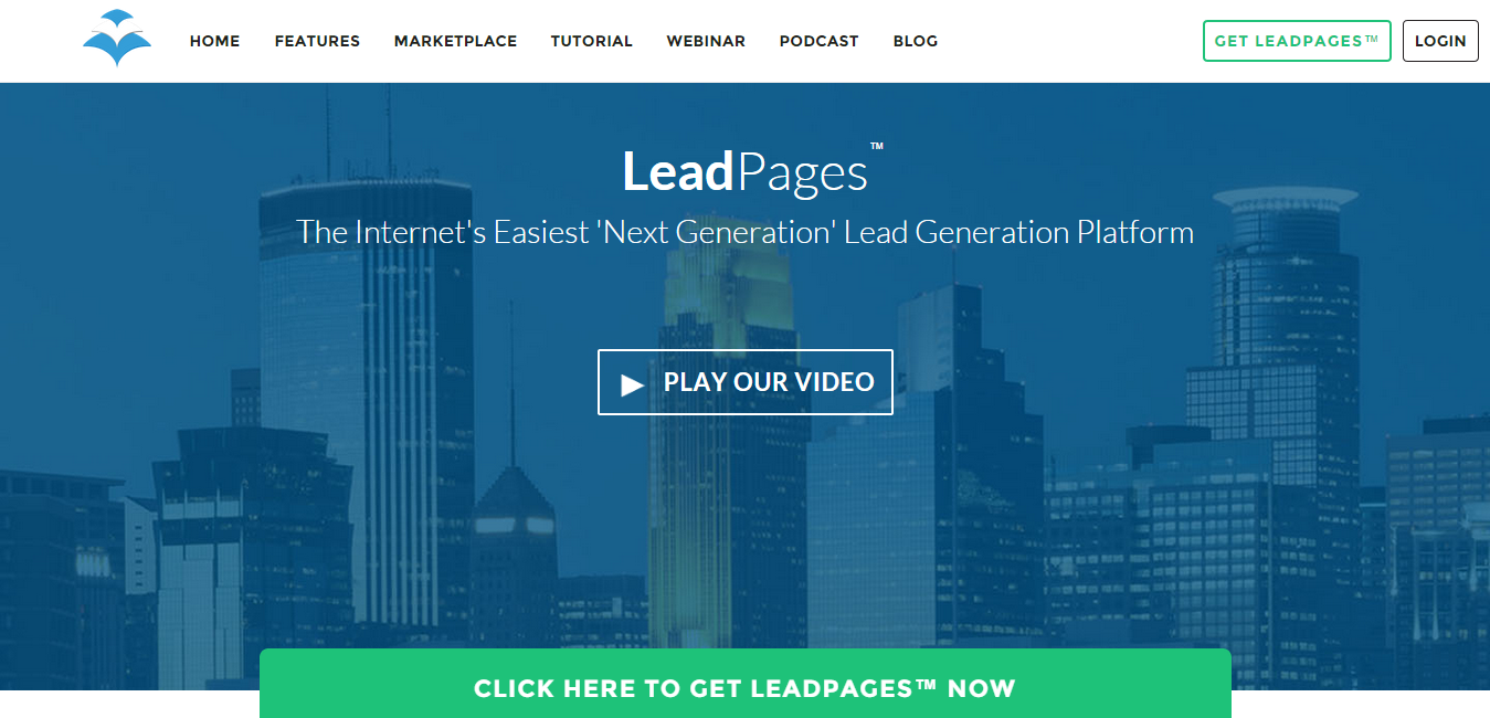 leadpages™ software mobile responsive landing page generator