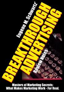 livre copywriting Breakthrough advertising